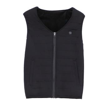 Heating Vest Winter Warm Jacket Heated Vest USB Charging Heating Vest Intelligent Electric Heating Vest Heating Clothes 7