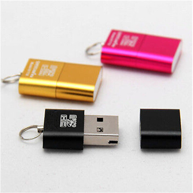 New High Speed Mini USB 2.0 Memory Card Reader Adapter For Micro TF T-Flash