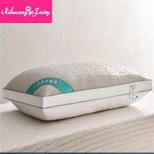 Natural latex pillow single pillow to protect the cervical spine to help sleep pillow a pair of household double head
