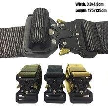 Survival-Accessories Buckle Inner-Waist-Belt Tactical-Belt SWAT Combat Nylon Military