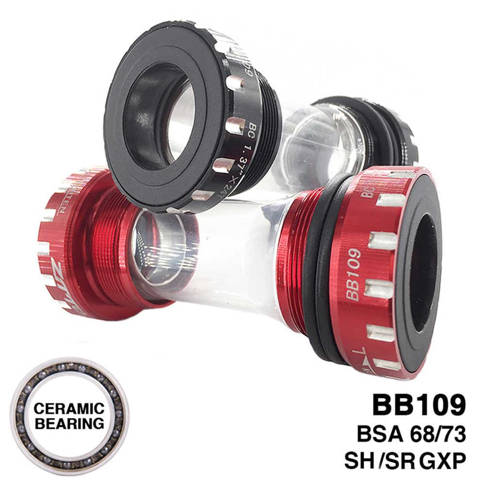 ZTTO Bicycle Bottom Brackets BSA68 BSA ISO 68//73mm MTB Bearing Bottom Brackets