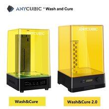 Anycubic 3D принтер, стирка и искусственная фотополимер 2 в 1 для моделирования 3D-принтеров