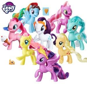 Коллекционная кукла My Little Pony, с радужной Лирой, волшебной песней, редкостью, фигурки, игрушки для детей