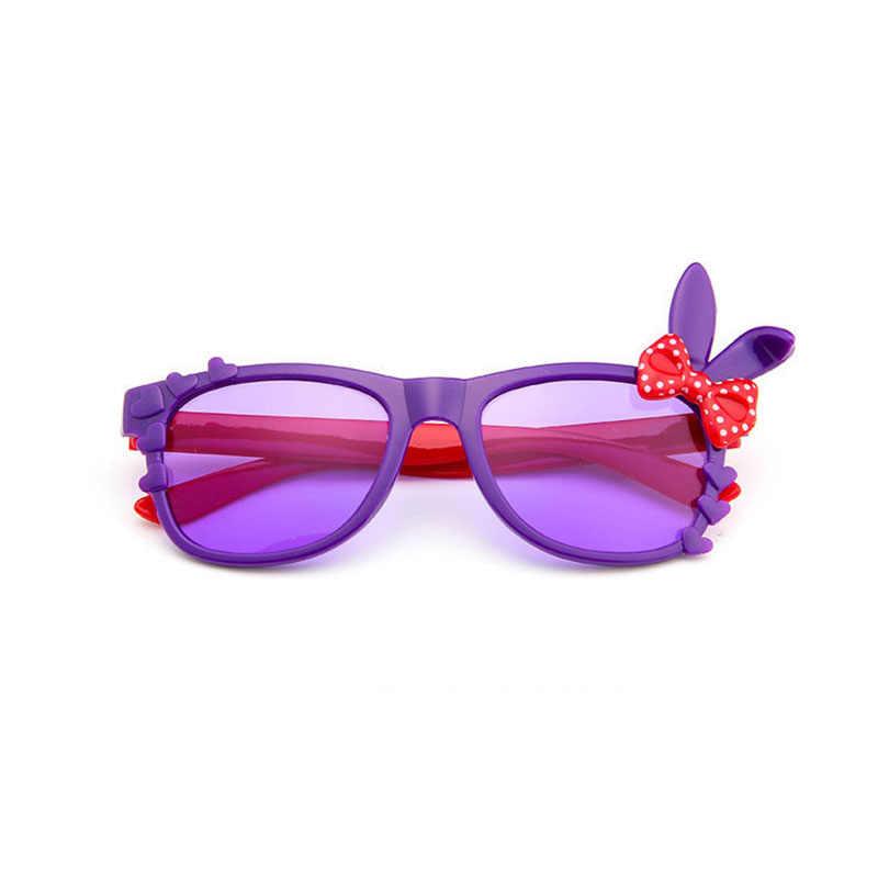 لطيف الطفل الاطفال النظارات الشمسية الفتيات الأطفال آذان أرنب نظارات الطفل النظارات الشمسية مناسبة ل 2-8 سنة