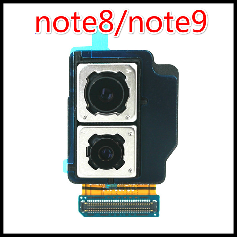 High Quality Original Rear Camera For Samsung Galaxy Note 8 N950F N950U Note9 N960F N960U Big Back Camera Module Replace Part