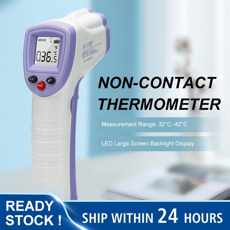 Não-contato Quente Corpo Termômetro Testa Digital Infravermelho Portátil Termometro Bebê – Adulto Temperatura