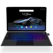 10 çekirdek Android 11.6 inç 1920*1080 4GB RAM 128GB ROM tip-c 2 in 1 dizüstü Tablet 4G lte GPS klavye ile kablosuz fare