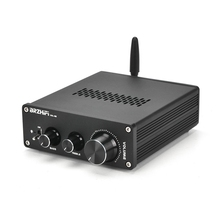 6J5 Van Ống Khuếch Đại Preamp Tiền Khuếch Đại Âm Thanh Không Dây Bluetooth 5.0 Âm Thanh Stereo Tai Nghe Bass Treble Âm Rạp Hát Tại Nhà