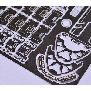 Image 2 - Voor Gundam Model Detail up Foto Etch Onderdelen Set voor Bandai MG 1/100 Sazabi ver ka Gundam Model Versieren Accessoires