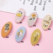 Korean Fashion Barrette Baby Hair Clips Pin For Girls Children Headwear Girls Sweet Hairpins Kids Hair Accessories