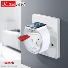 Портативное зарядное устройство A3 с usb портом, беспроводное магнитное зарядное устройство для Apple iWatch Series 5 4 3 2 1, адаптер, беспроводной кабель для быстрой зарядки