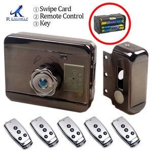 Image 1 - AA Dry Battery Easy Install Smart Lock  RFID Electronic Locker Door Lock Wireless Rfid Electronic Battery Proximity Card Lock