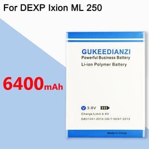 GUKEEDIANZI Battery 6400mah for DEXP Amper-M Ixion-Ml Amp-Phone In-Stock Latest-Production