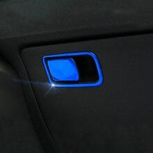 Lsrtw2017 Car Co-pilot Storage Box Switch Handle for Kia Rio X Line Kx Cross K2 Rio 2017 2018 2019 2020 Interior Accessories накладки под ручки дверей kx cross для kia rio x line 2017