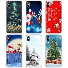 Para Samsung Galaxy J1 J2 J3 J4 J5 J6 J7 J8 Plus 2018 Prime 2015 2016 2017 UE Feliz Natal Incrível Caso de Telefone Silicone