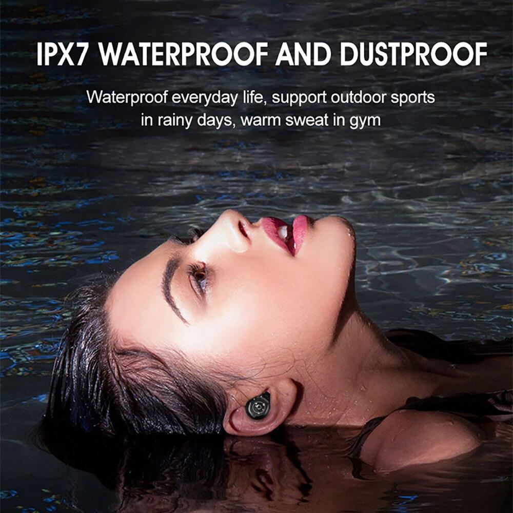 VTIN XT988 TWS Earphone Wireless Bluetooth 5.0 Earphones Stereo Earbuds Life Waterproof Earphones 5H Playtime For iPhone Huawei (3)