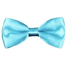 Новое поступление года, модный стиль, школьный детский Свадебный однотонный галстук-бабочка для маленьких мальчиков, паджарита, bebe muszka