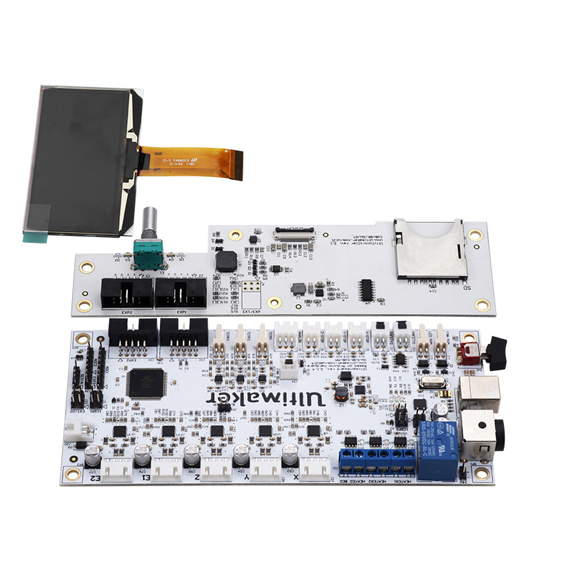 3D Printer Accessory Support Single And Double Nozzle Print Integrated Circuit Ultimaker2 Motherboard Kit
