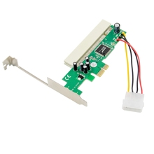 Carte PCI-E X1 vers PCI Bridge/Riser PCIe vers PCI sans lecteur Plug and Play pour PC