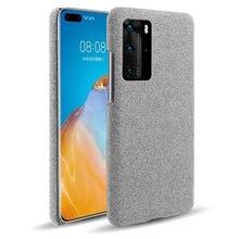 De los casos para Huawei P40 Pro caso P 40 Pro Plus caso ajustado Retro tela de la cubierta del teléfono duro para Huawei P40 Pro + Funda Coque Capa