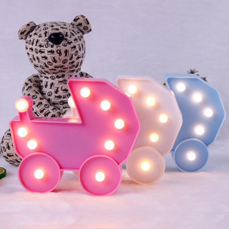 LED baby Night Light Night Light Cartoon kids room Bedside Night Light decoration light