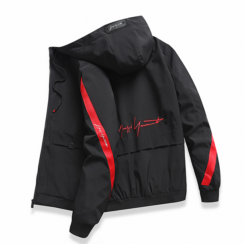 2020 Spring And Autumn Hooded Jacket Jacket Men's Casual Street Slim Windbreaker High Quality Jacket Authentic Men's Clothing