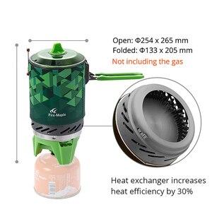 Image 2 - Fire Maple X2 Outdoor Gasfornuis Brander Toeristische Draagbare Koken Systeem Met Warmtewisselaar Pot FMS X2 Camping Wandelen Gas Fornuis