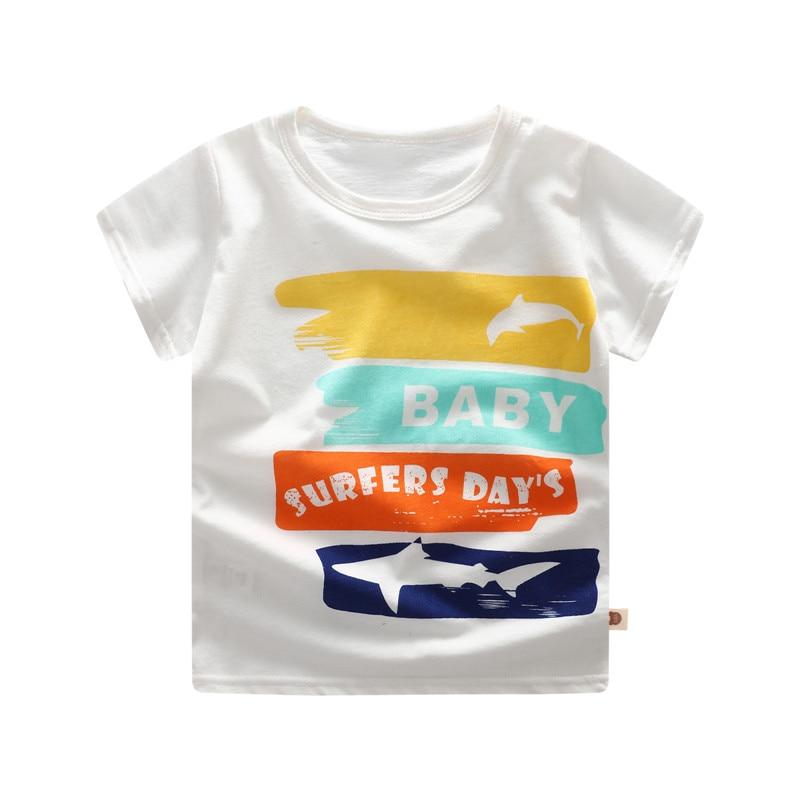 boy's cotton t-shirt surfer
