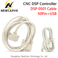 DSP0501 Controller Kabel 50Pin + Usb Kabel Voor 3 Axis Controller Systeem Voor Cnc Router Newcarve