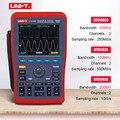 Цифровой осциллограф постоянного тока переменного тока измеритель напряжения тока сопротивление емкость мультиметр UNI-T UTD1062C UTD1102C UTD1202C