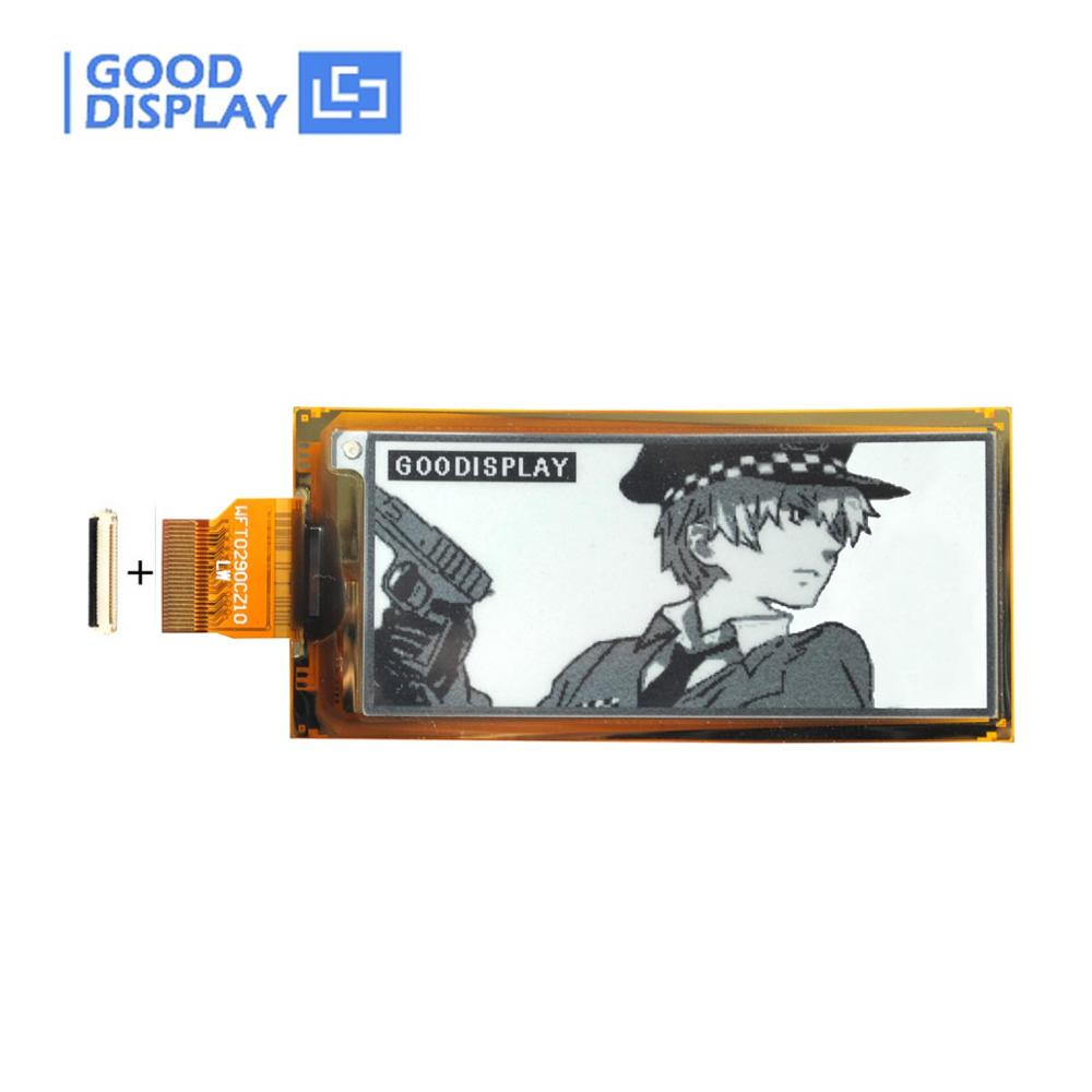 2.9inch E Ink Flexible E-paper 4 Grayscale Epaper Display