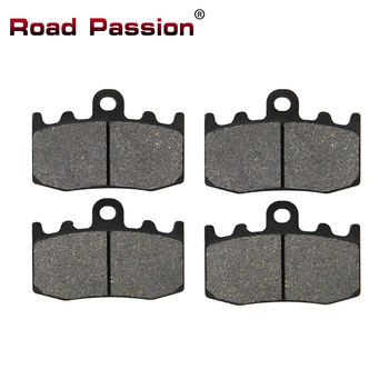 Road Passion Motorcycle Parts Front Brake Pads for BMW HP2 Megamoto 2007 2008 K1200RS K1200 RS 2001-2005 K 1200 S K1200S K 1200S image