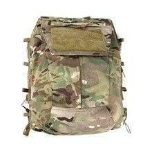 TMC Мультикам военный тактический жилет для страйкбола сумка-мешок на молнии молния панель Back Pack NG Ver