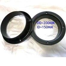 2pcs/pair 200mm plastic sand blasting gloves holder for 6 inch sandblasting cabinet
