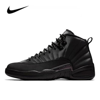 Original Women Sneakers Nike Air Jordan 12 Winterized Men's Jordan Shoes Basketball Shoes High-top Jordan Shoes BQ6851-001