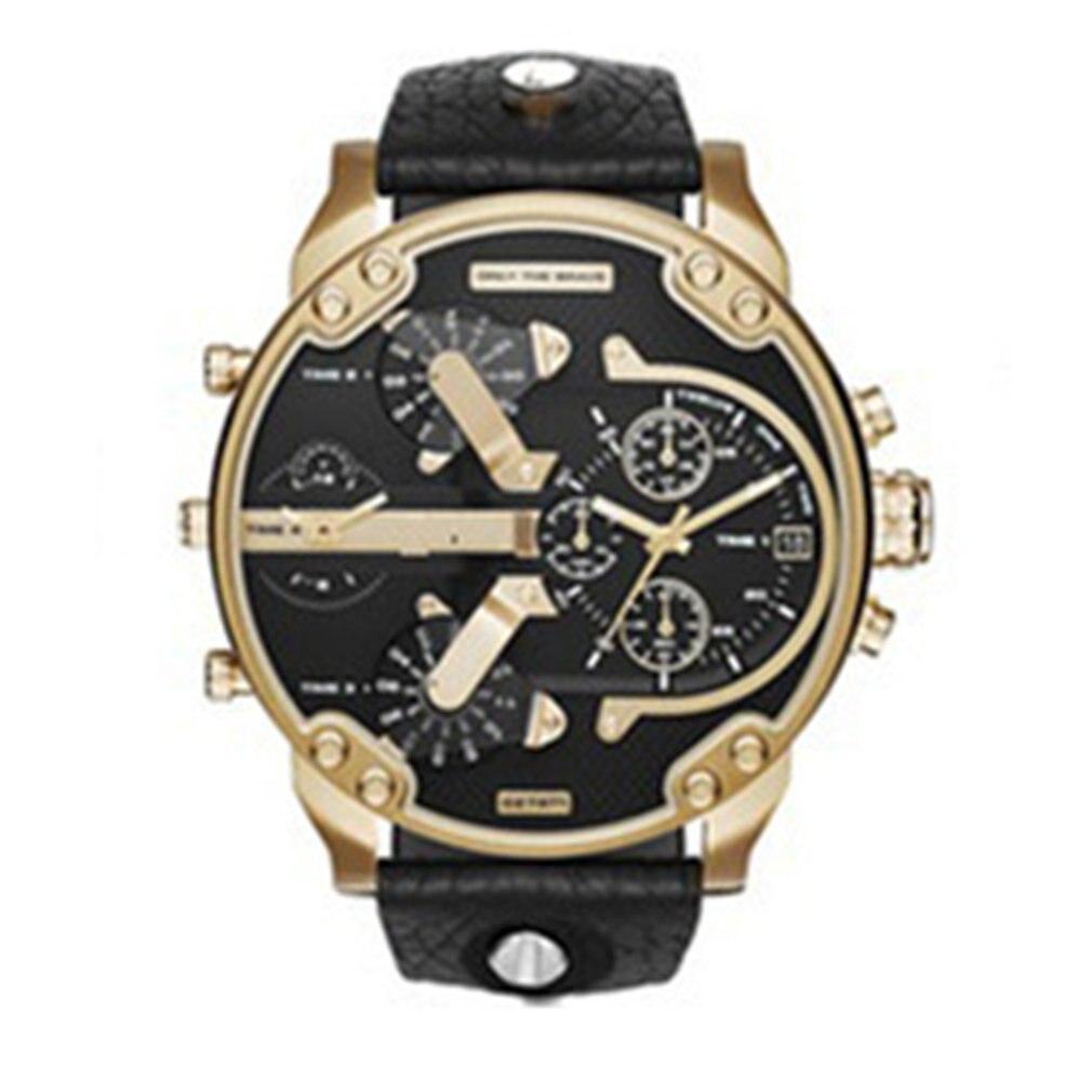 Fashion Mens Watch Waterproof Thickening Stainless Steel Watches Date Military Sport Quartz Analog Wrist Watch Relogio Masculino