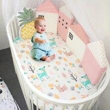 4 шт./партия Детская кровать бампер ограждение детской кроватки Комбинированный дом Удобная Защитная кроватка для новорожденного вокруг подушки Бамперы в кроватку