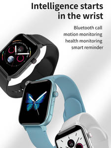 696 Monitor W34 Smartwatch Bluetooth-Call Xiaomi Phon Android for PK IWO 8/10-Band Heart-Rate