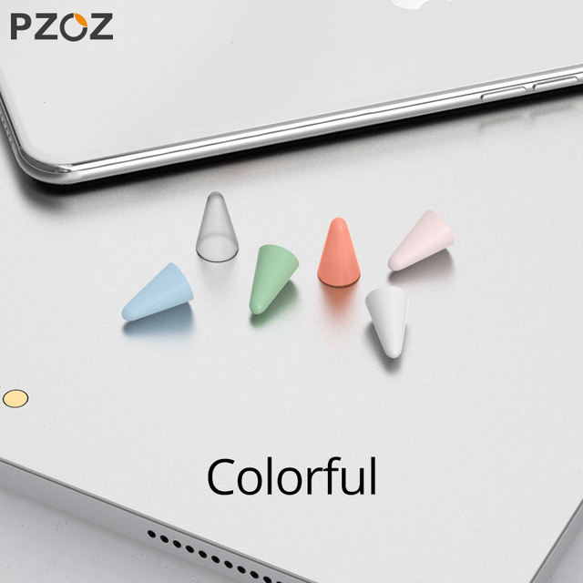 PZOZ 8pcs Protective Case For Apple Pencil 1 2st Pen Point Stylus Penpoint Cover Silicone Protector Case For Apple Pencil2 Case 4