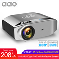 Aao Inheemse 1080P Full Hd Projector YG620 Led Projector 1920X1080P 3D Video YG621 Draadloze Wifi Multi-Screen Beamer Home Theater
