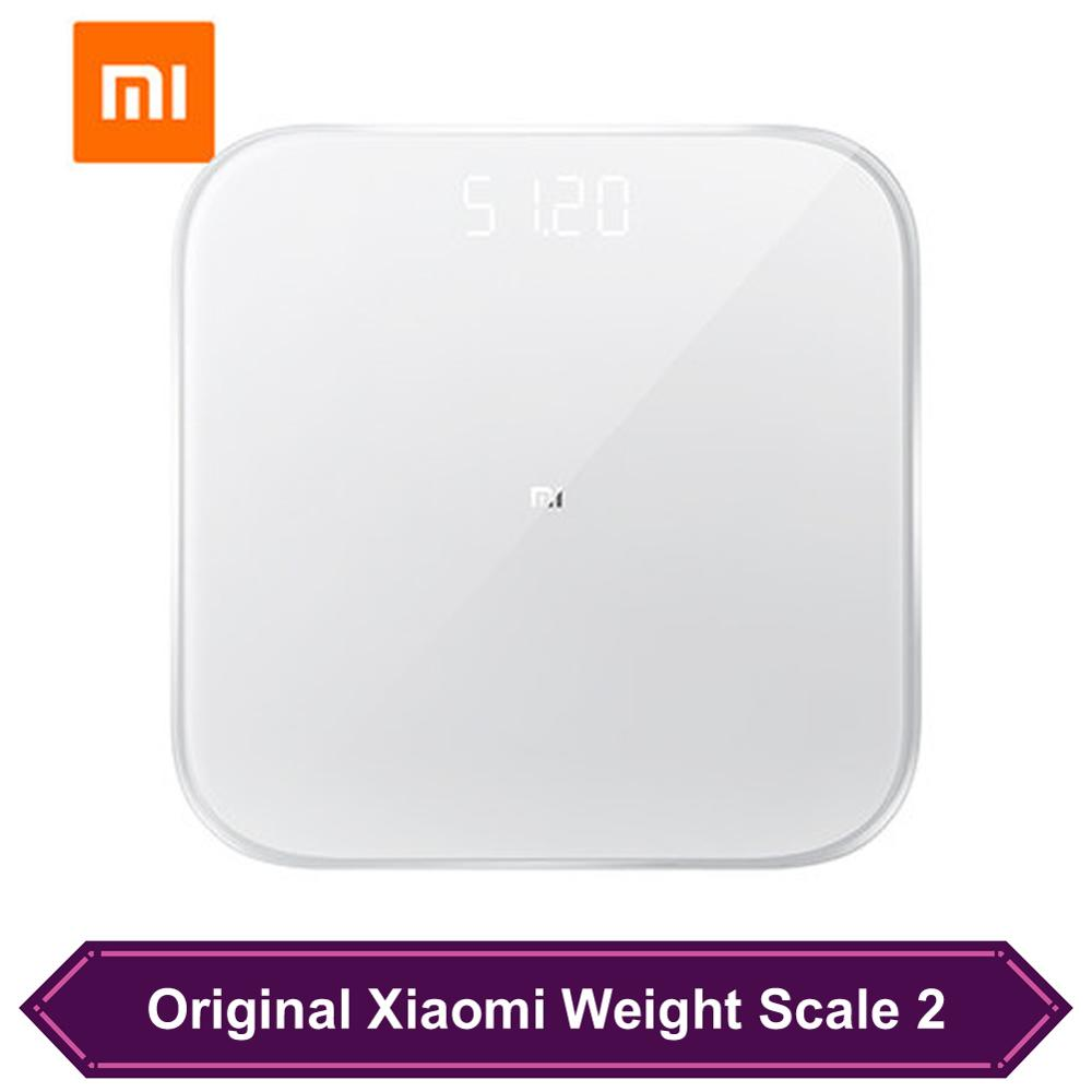 Xiaomi Smart Scales 2 Bluetooth 5.0 Data Transmission Weighing Health Scale Balance Test Support Android 4.3 iOS 9 mi fit APP