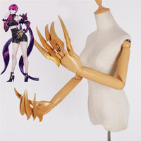 New KDA Evelynn Cosplay Costume Props EVA Finger Paws Tail Sting Cosplay Accessories for Halloween Party Use