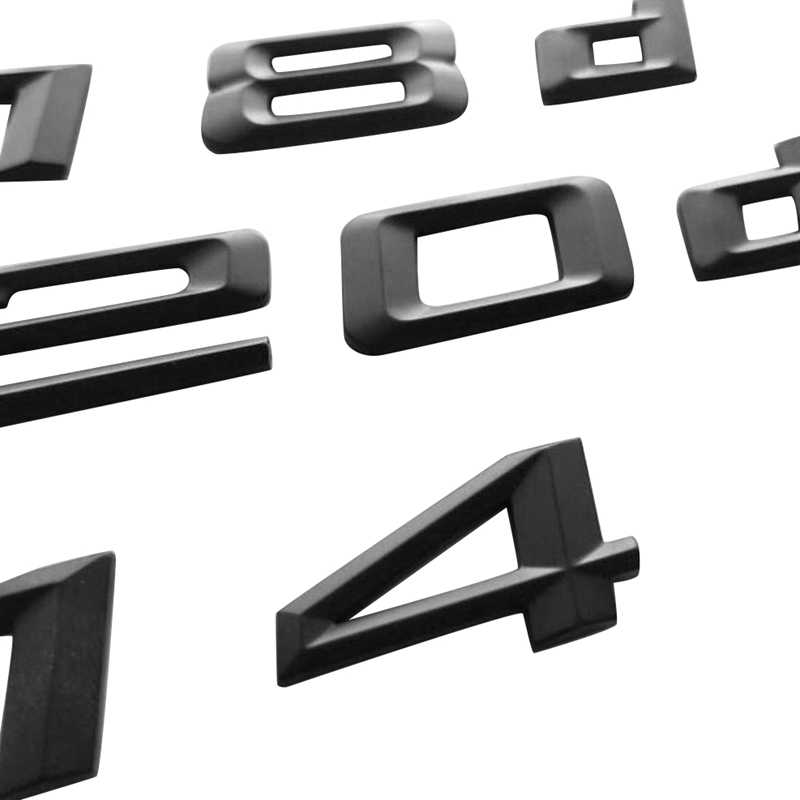Gloss Black 420d Rear Boot Badge Emblem Number Letter Compatible For 4 Series F32 F33 F36