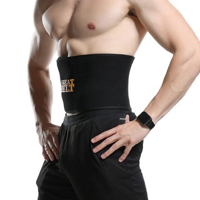 Male Neoprene Waist Trainer Sweat Belt Slimming Belt Tummy Reducing Belts Body Shapers Promote Shapewear Modeling Strip 2