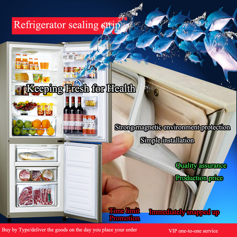 Household Refrigerator Door Seal Magnetic Seal Door Rubber Refrigerator Accessories,dependable Quality And At Low Price