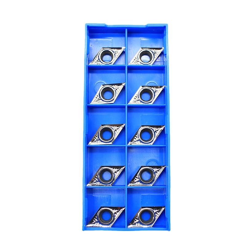 10Pcs KORLOY DCGT32.50.5-AK H01 DCGT11T302-AK H01 Aluminum inserts