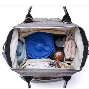 Image 3 - Lequeen Fashion Mummy Maternityกระเป๋าผ้าอ้อมเด็กกระเป๋าเดินทางกระเป๋าเป้สะพายหลังDesigner Nursing Bag For Baby Care