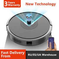 2019 haut de gamme Robot aspirateur caméra Navigation, WIFI APP contrôlé, point d'arrêt Continue de nettoyage, puissance d'aspiration réglable