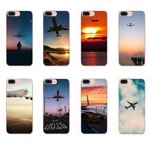Aircraft Airplane Fly Travel Cloud Sky Luxury For Galaxy J1 J2 J3 J330 J4 J5 J6 J7 J730 J8 2015 2016 2017 2018 mini Pro(China)