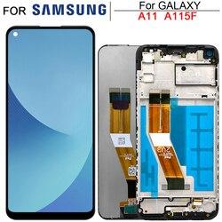 6,4 ''оригинальный A115 Lcd для Samsung Galaxy A11 LCD дисплей с сенсорным экраном в сборе для Samsung A115F A115F/DS Lcd